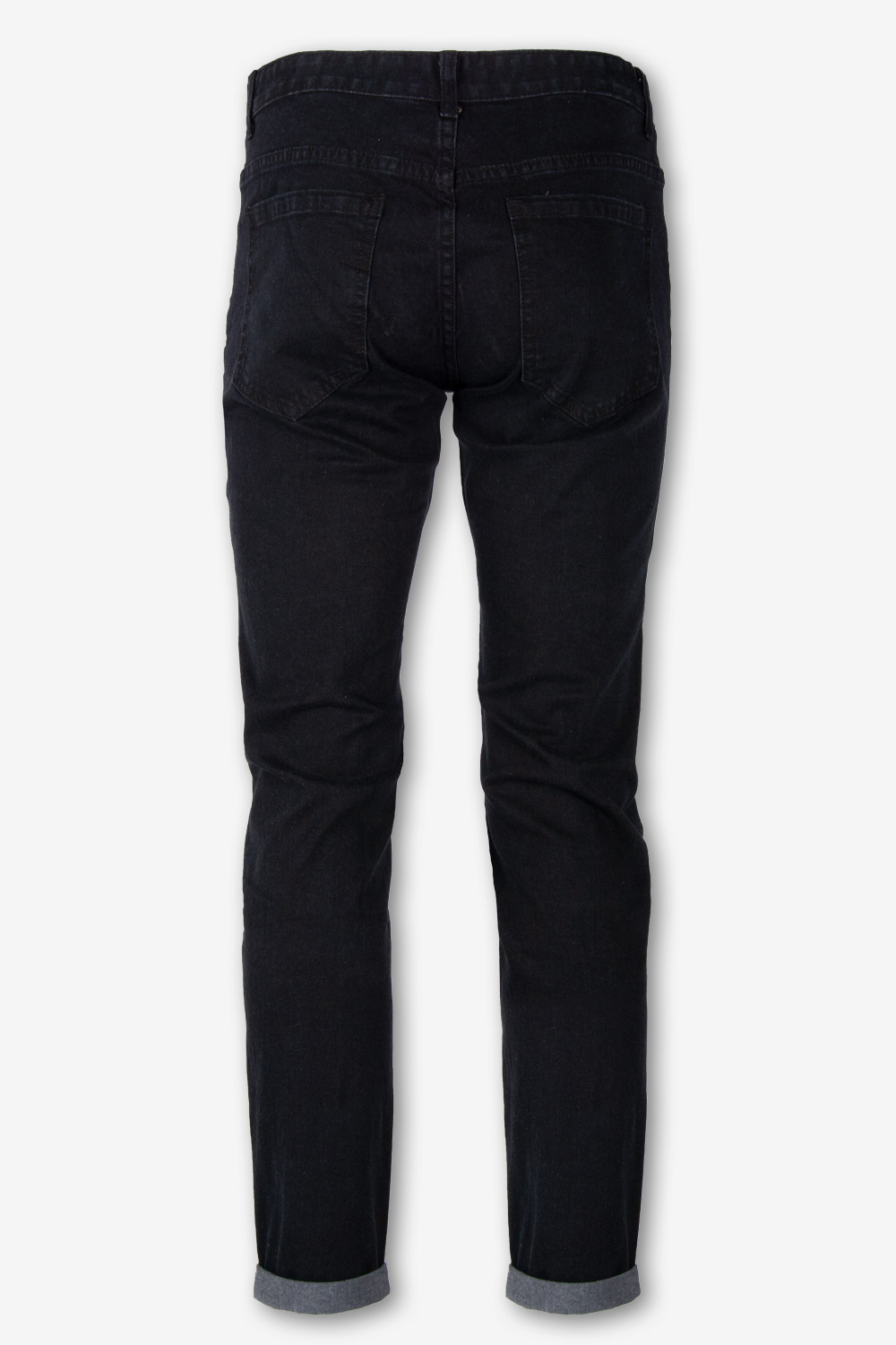 Pantalone Jeans 5 tasche Stretch Nero Black Denim