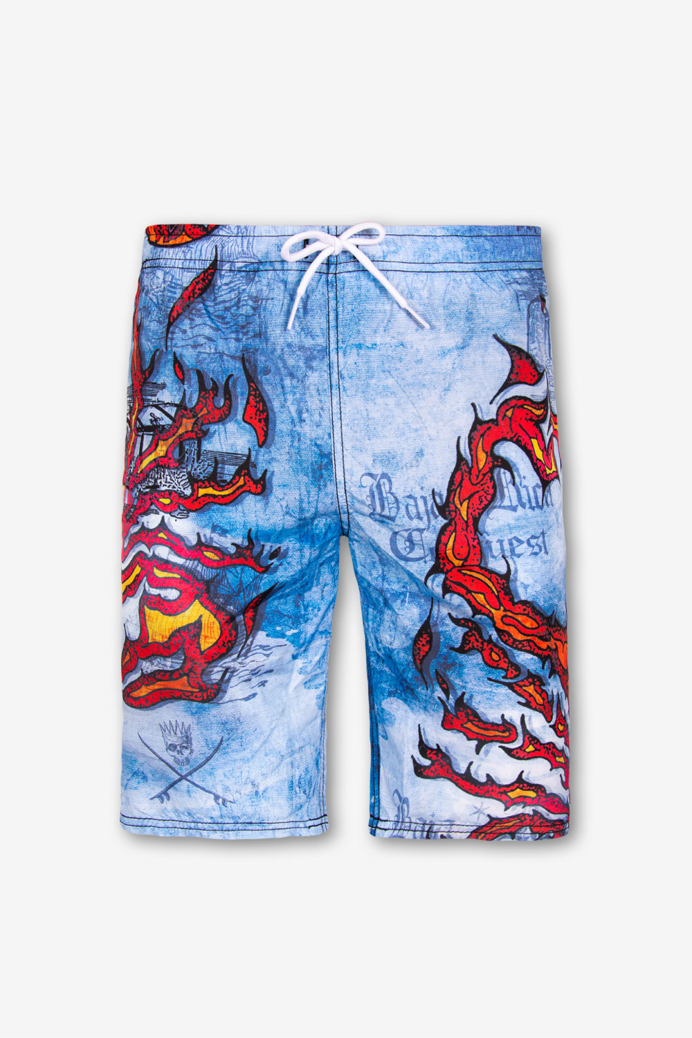 Costume da Bagno Boardshort BOYS - SCORPION FLAME